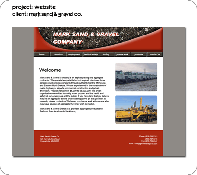 Mark Sand and Gravel Co.